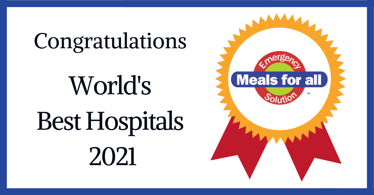 World's Best Hospitals Are Prepared With Meals For All