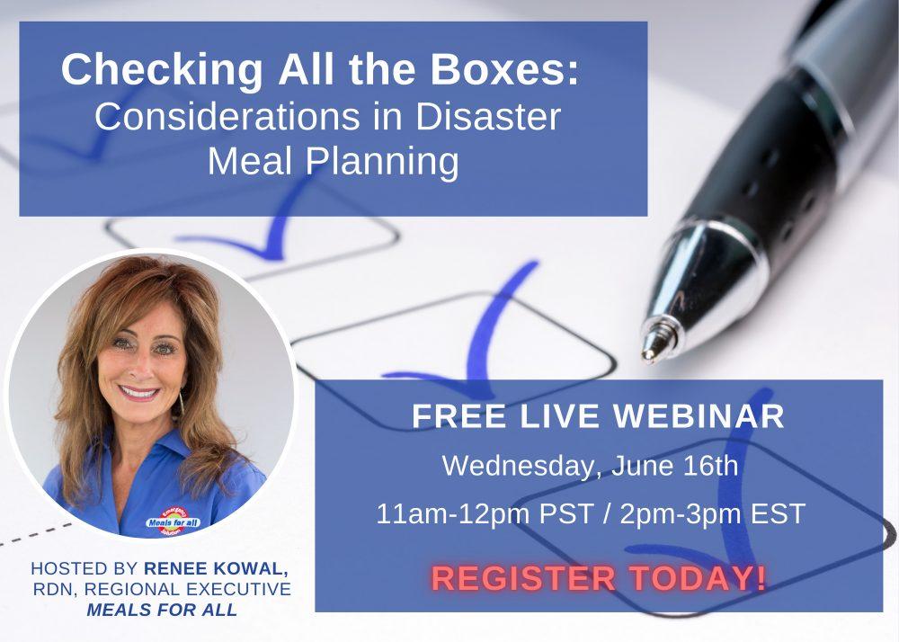 Disaster Preparedness Webinar
